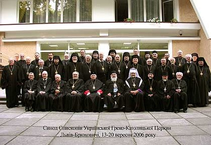 (photo 16) the Council of Ukrainian Greek Catholic Church Bishops