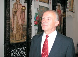 (photo 88) Professor, Doctor of theology and art history Dmytro Stepovyk